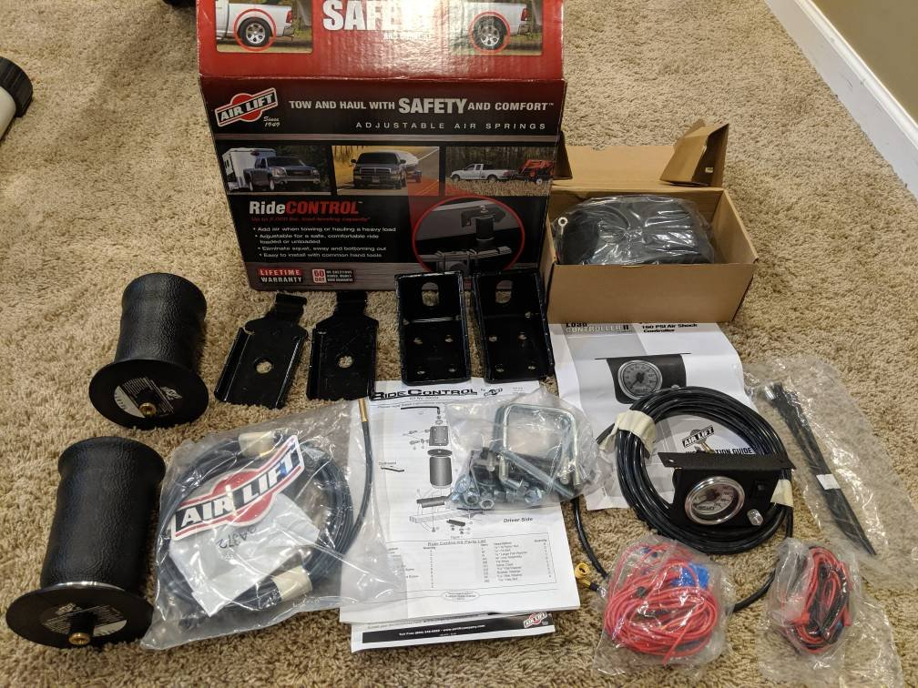 Airlift Air Shocks and Pump Controller Kit - NOB | Nissan Titan Forum